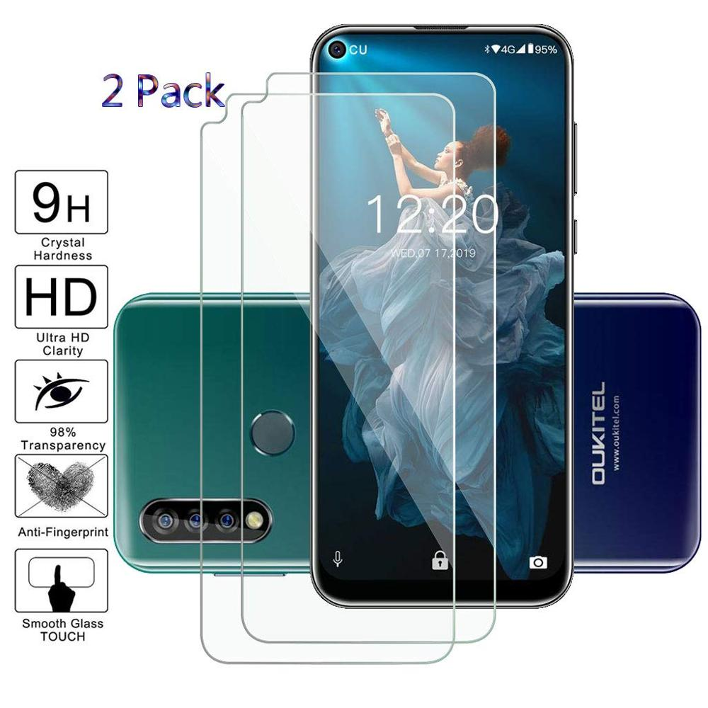 For Oukitel C17 Pro Glass Screen Protector Cover Armor Tempered Glass For Oukitel C17 Pro Global Version Protective Film