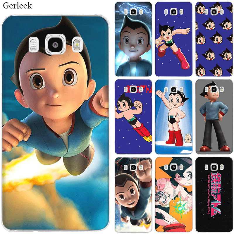 Mobile Phone Case untuk Samsung S7 Edge S8 S9 S10 Plus Note 8 9 10 M10 M20 M30 M40 Lucu astro Boy