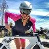Triathlon skinsuit para bicicletas, traje de triatlo para ciclismo personalizado, manga longa, conjunto de roupas para estrada 13