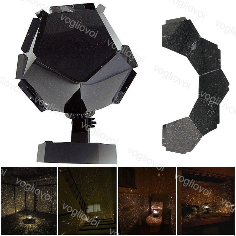 Vogliovi Projector Lights Party Cosmos Star Sky  Starry Night 12 Constellations Lovers Bedroom Decor Gadgets Warm White