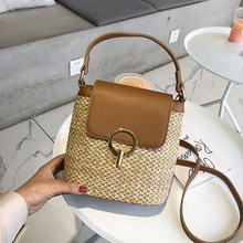 AURAY Women #8217 s Crossbody Bags Handbags Shoulder Bags For Women 2020 Bucket Straw Bag Messenger Bag Women Purses And Handbags cheap Shoulder Crossbody Bags Hasp Soft NONE Fashion BZ0961 Polyester Versatile Knitting Single Cell Phone Pocket Interior Zipper Pocket