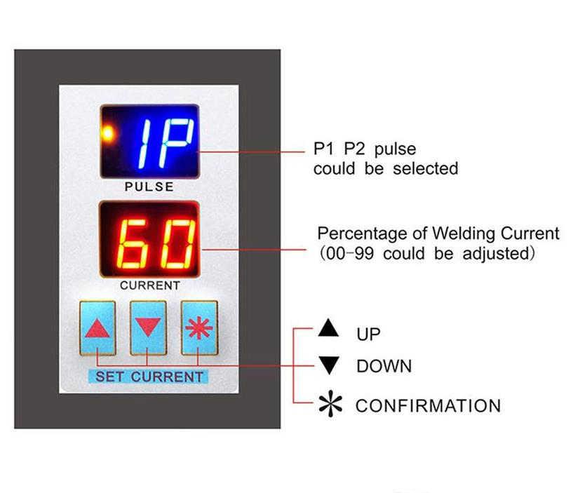 Bán Sunkko 737 Điểm G Máy Hàn 1.5KW Đèn LED Chiếu Sáng Kép Màn Hình Hiển Thị Kỹ Thuật Số Đôi Máy Hàn Xung Cho Pin 18650