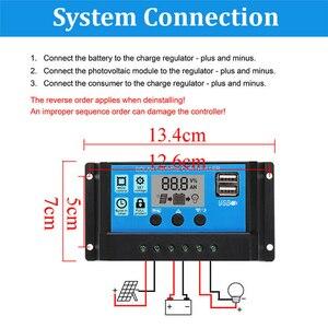 Image 3 - Chaude 3C 100W 18V double USB panneau solaire chargeur de batterie contrôleur solaire pour bateau voiture maison Camping randonnée