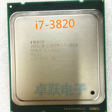 CPU Processor I7-3820 Quad-Core Scrattered-Pieces