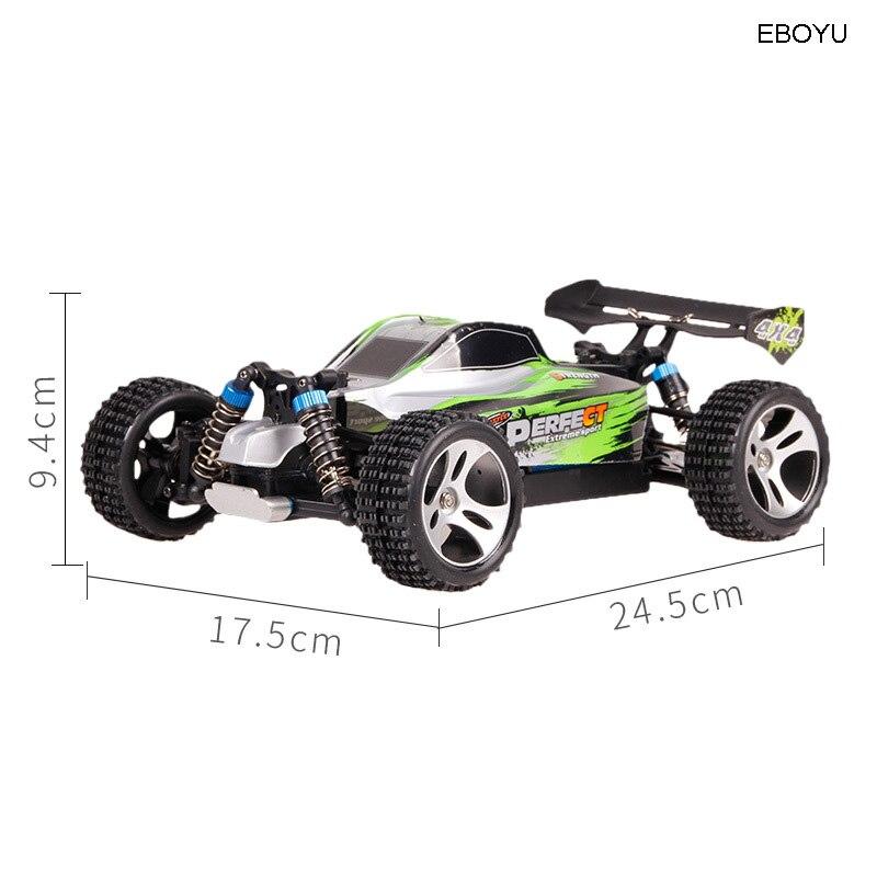 WLtoys A959A A959 A RC автомобиль 2,4 ГГц 1:18 Масштаб 4WD 35 км/ч высокий гоночный скоростной автомобиль дистанционное управление внедорожный автомобиль ... - 3