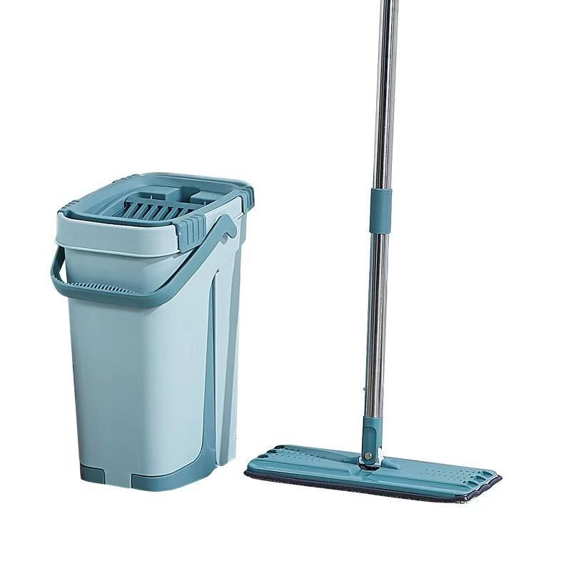 Automatic Spin Mop With Bucket with Ultrafine Fiber Cleaning Cloth to Remove Dirt from Floor Corners