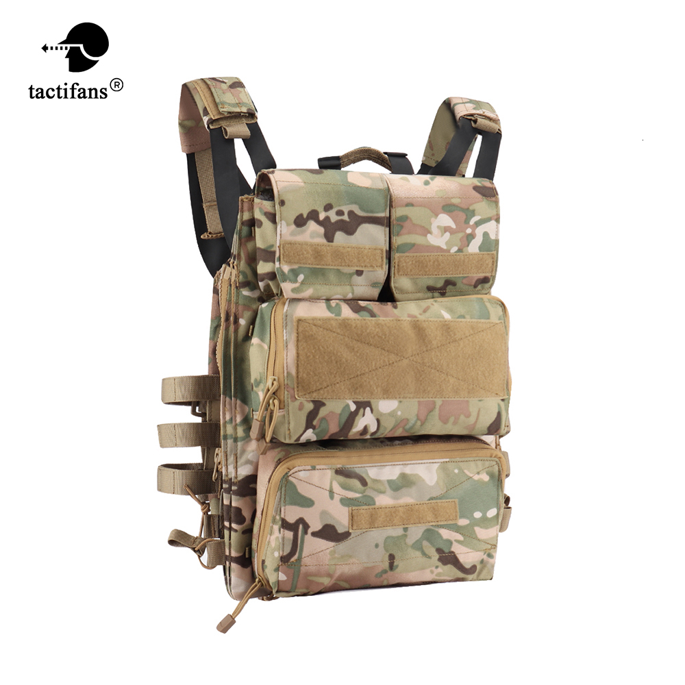 Tactical Vest JPC 2.0 Jumpable Plate Carrier Lightweight Zip-on Panel Pouch Molle Hunting Airsoft Paintball Accessories Nylon