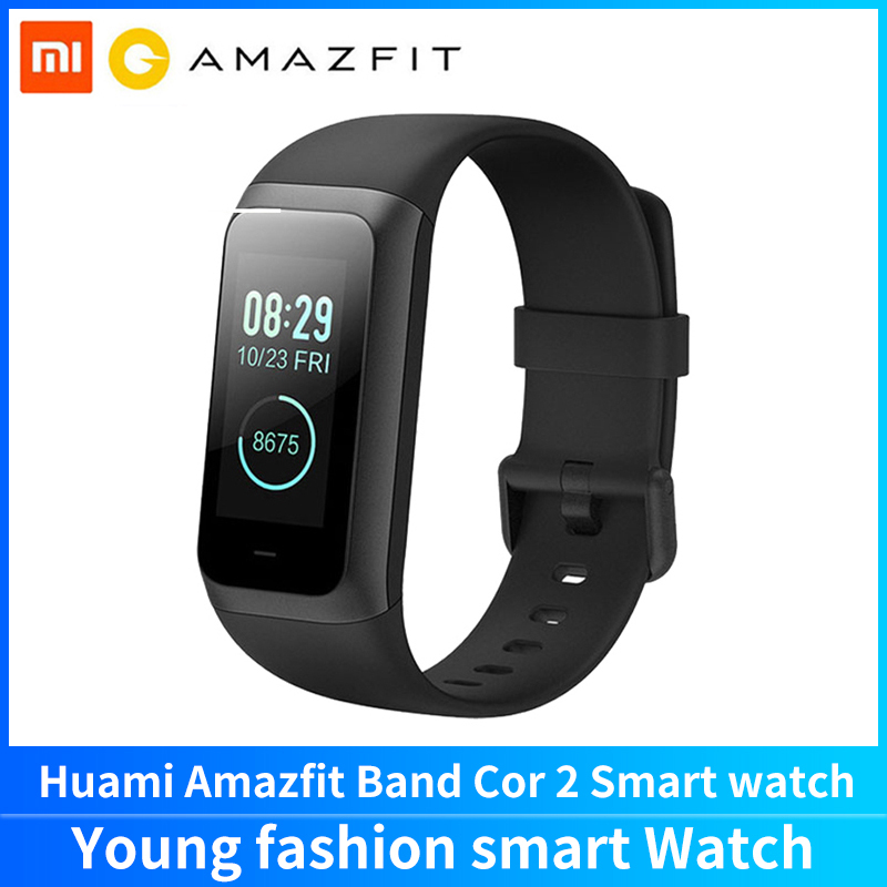 "Huami Amazfit Smart Band Cor 2 Sport 1.23"" IPS Screen Heart Rate Monitor Bluetooth Android iOS Smart Wristband"