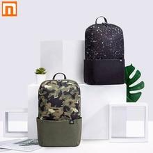 Oryginalny Xiaomi Mi plecak 10L torba 12 kolory 165g miejski wypoczynek sport Chest Pack mężczyźni kobiety mały rozmiar torby na ramię Unisex