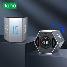 LLANO USB kitchen Gadget Timer LED Digital Kitchen Cooking Shower Study Stopwatch Alarm Clock Electronic Cooking Countdown Timer
