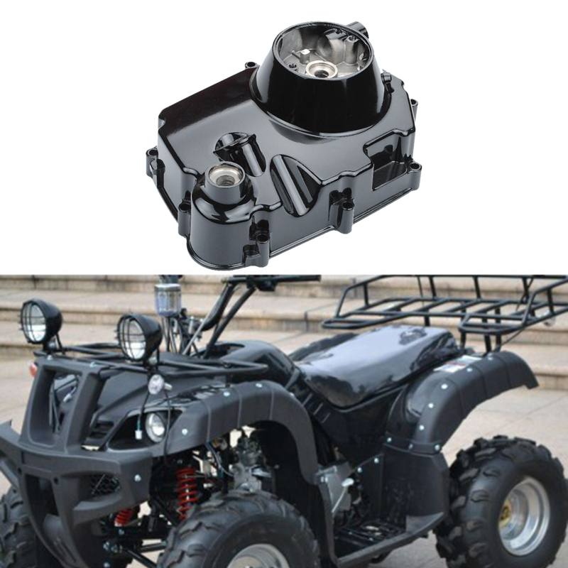 NEW-Right Side Engine <font><b>Motor</b></font> Case Casing Cover for 50Cc 110Cc <font><b>125Cc</b></font> ATV Manual Clutch Engine <font><b>Motor</b></font> Accessory Motorcycle Parts image