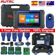 Autel MaxiIM IM508 OBD2 כל מערכת Daignostic סורקים IMMO מפתחות תכנות