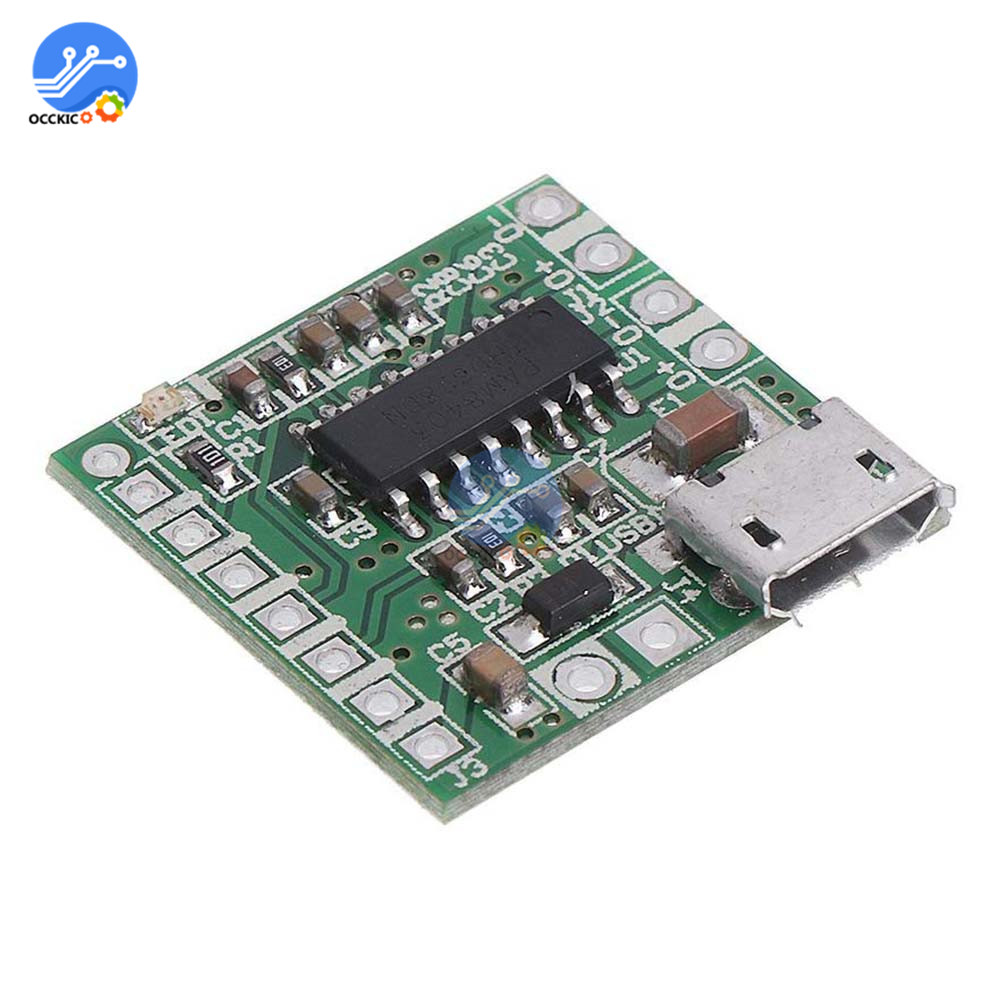 Mini PAM8403 Amplifier Board 2x3W DC 5V Micro USB Audio AMP Sound Board Support Bluetooth Speaker Interface