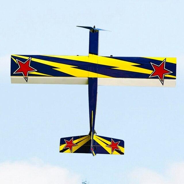 أومفيبي تشالينجر 49 GP 1250 مللي متر وينغسبان بلاسا الخشب RC طائرة المدرب Warbird عدة الإصدار RC في الهواء الطلق طائرات بدون طيار لعبة للمبتدئين 3