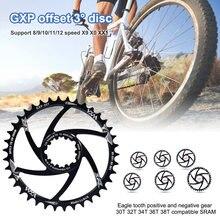 Велосипедная Звездочка 34t 36t 38t 40t велосипедная односкоростная