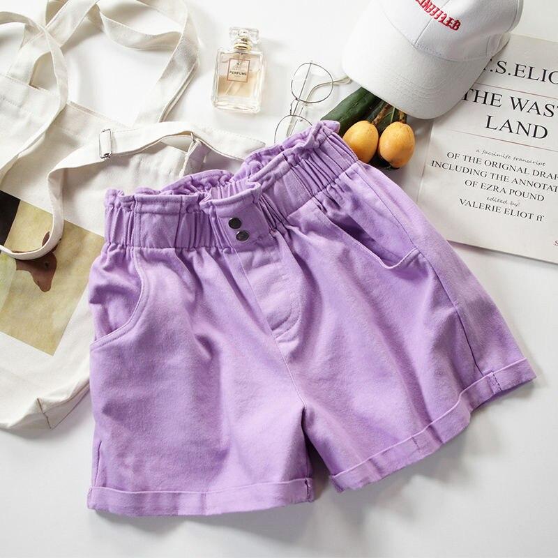 Jeans Shorts Women Summer Casual Short Pants New 2020 Fashion Korean Style All-match Loose High Waist Hot Pants Woman
