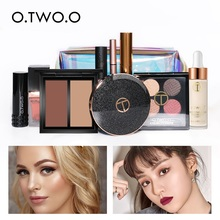 O. Makeup Set Kit Box Professional Full For Women Matte Lipstick