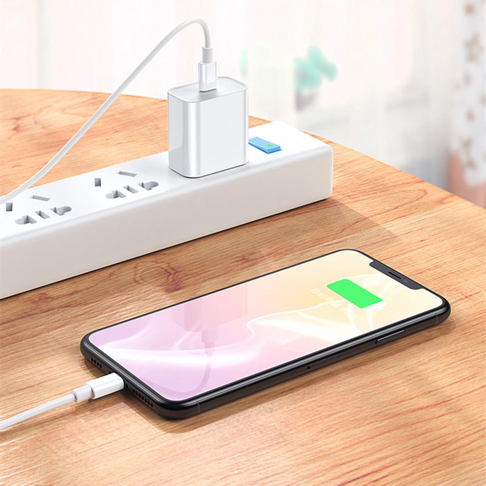 PD 20 Вт USB-C адаптер питания для зарядки электроники с разъемами стандартов США ЕС штекер QC4.0 18W смарт-телефон быстрое зарядное устройство для iPad Pro Air iPhone 12 11 Pro Max Xs X-5
