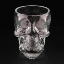 High Quality Skull Head Vodka Whiskey Shot Glass Cup Drinking Ware Home Bar crystal skull head vodka whiskey glass cup