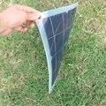 Полугибкая монокристаллическая солнечная панель 10 Вт 4 в  солнечная батарея DIY  зарядное устройство для солнечной батареи  бесплатная доста...