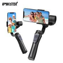 UPMOSTEK 3 Axis H4 Gimbal Stabilizer for Phone Action Camera Handheld Selfie Stick Stabilizer Tripod for Smartphone Goprpo Vlog