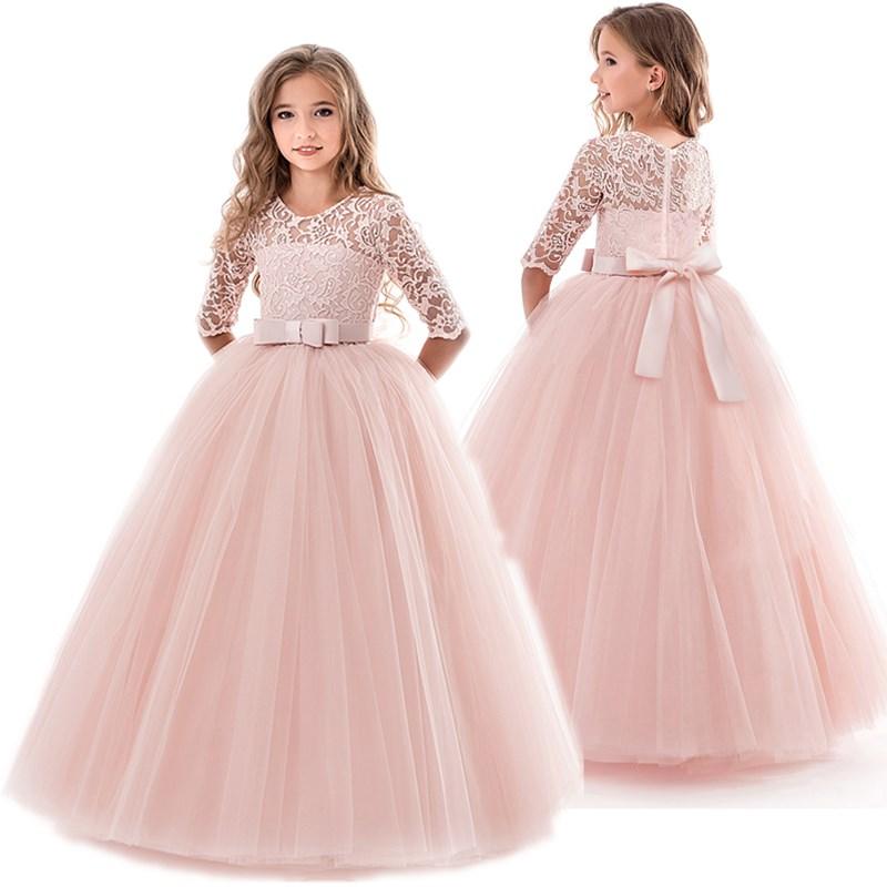 Teenage Girls  Wedding Ceremony Dress 1