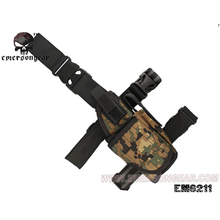 emersongear Universal Drop Leg Holster Pistol Thigh Right Left Tactical Tornado Mag Pouch Airsoft JD