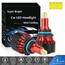 Mini Canbus Lamps H7 H4 Car Headlight LED Bulb H1 H8 H9 H11 9005 HB3 9006 HB4 9003 HB2 50W 13000LM high low beam light Fog light new 15w 9005 h11 h8 laser lens headlight bulb car high beam laser fog light spotlight