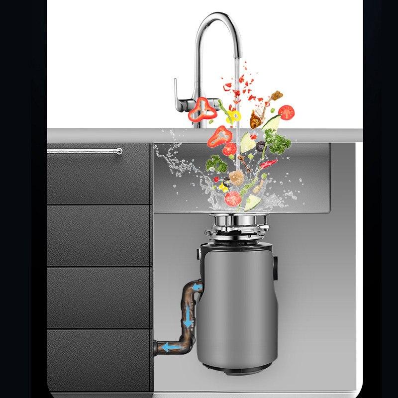 Устройство для измельчения пищевых отходов, немецкая электротехника 2020 Вт, септическая техника, 1 HP, бытовой измельчитель мусора, новинка 1200 5