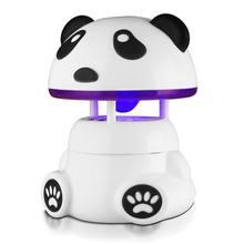 Тихая форма панды usb фотокатализатор противомоскитная лампа