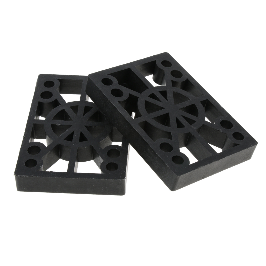 2Pcs 12mm Thicken Skateboard Longboard Shock Absorbing Pads Risers Skate Board Accessories Dropshipping