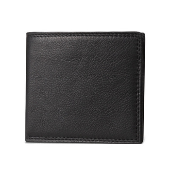 Genuine cow leather bifold wallet