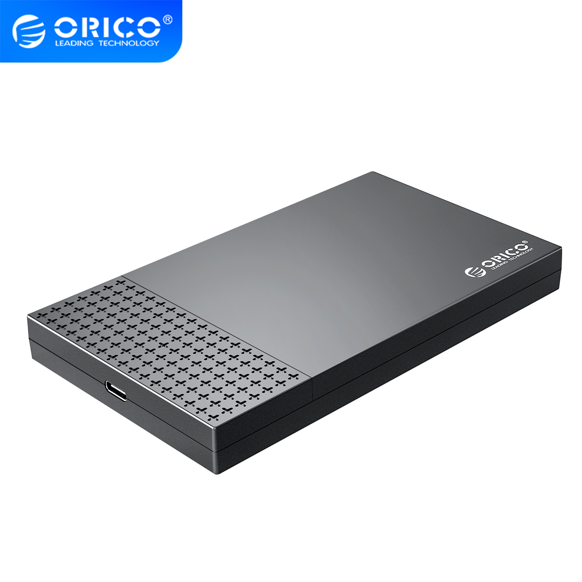 ORICO 2 5 inch Type-C USB3 1 to SATA3 0 5Gbps 4TB External Hard Drives Box for 7mm 9 5mm SSD HDD Tool-free Super Speed HDD Case