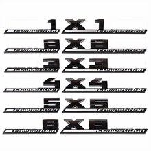 ABS M Emblema Para BMW Trovão Edição M1 M2 M3 M4 M5 M6 M7 M8 X1M X2M X3M X4M X5M X6M COMPETIÇÃO Car styling Trunk Emblema Etiqueta