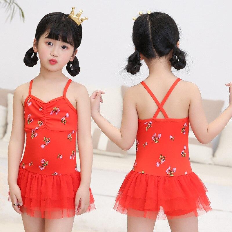 2019 New Products KID'S Swimwear 30-45 Jin Big Virgin Girls Dress-Beach Swimwear NT526887