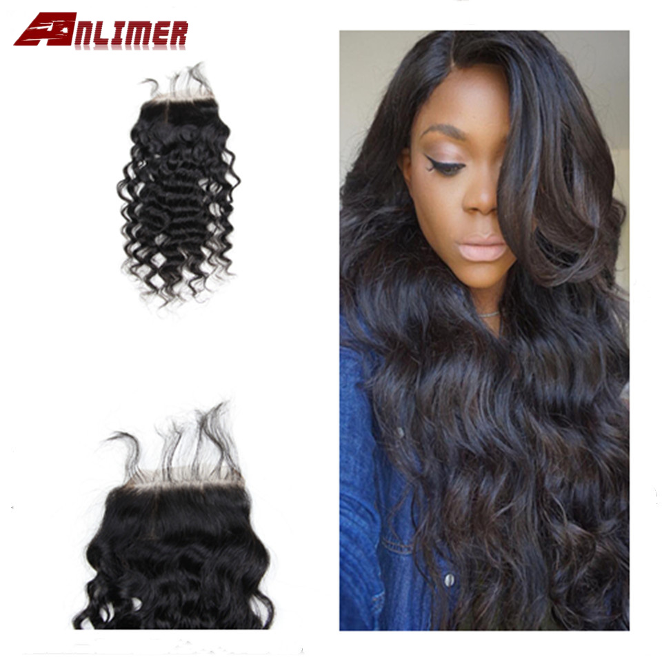 4x4  5x5 Closure Wig Brazilian Deep Curly Lace Closure Human Hair Wigs Pre Plucked With Baby Hair Remy Hair Lace Front Wig