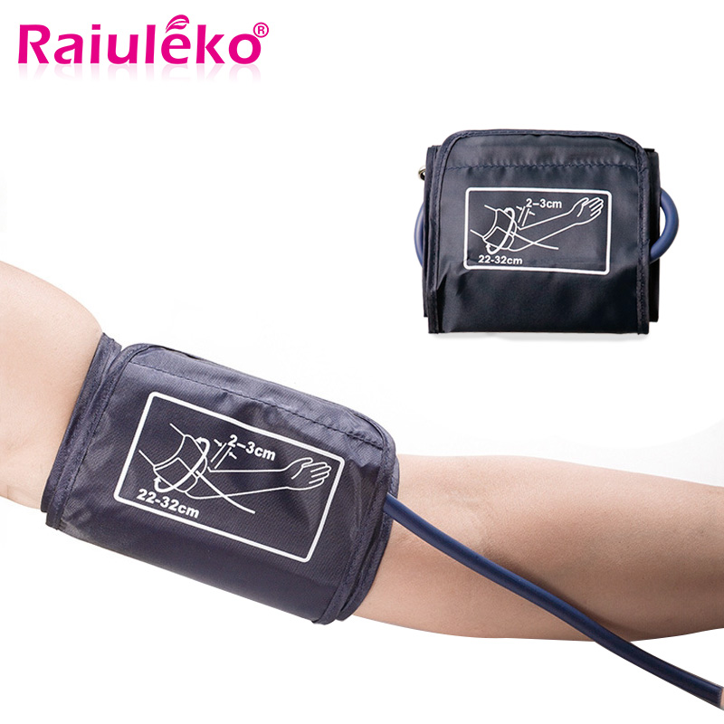 Portable Arm Cuff Digital Blood Pressure Monitor Cuff Single tube Tonometer Cuff For Sphygmomanometer BP meter 22-32CM/22-42CM