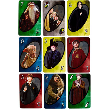 This is the Uno Varieties Harry Potter version playing cards
