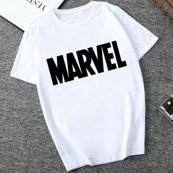 Marvel White T-shirts For Men (20 Designs) 1