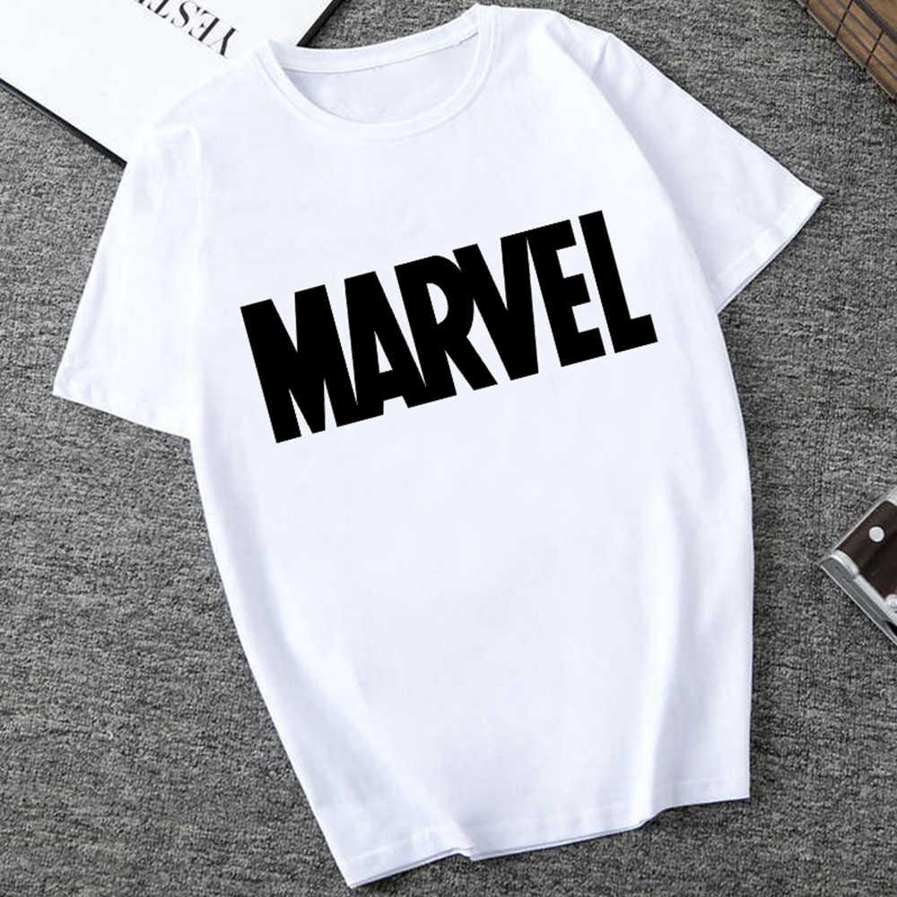 Męskie koszulki moda Marvel Avengers druku Hipster Funny t koszula mężczyzna lato na co dzień ulica hip-hop Tee koszula mężczyzna topy