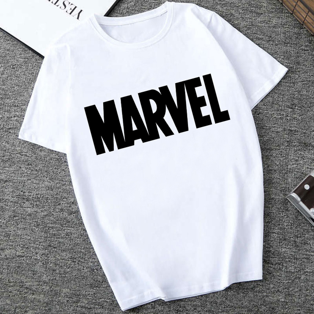 Men's T-shirts Fashion Marvel Avengers Print Hipster Funny T Shirt Men Summer Casual Street Hip-hop Tee Shirt Male Tops