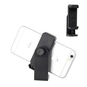 Image 5 - ZOMEI Statief Mount Adapter Mobiele Telefoon Clipper Houder Verticale 360 Stand met 1/4 schroef gat voor Telefoon voor Camera