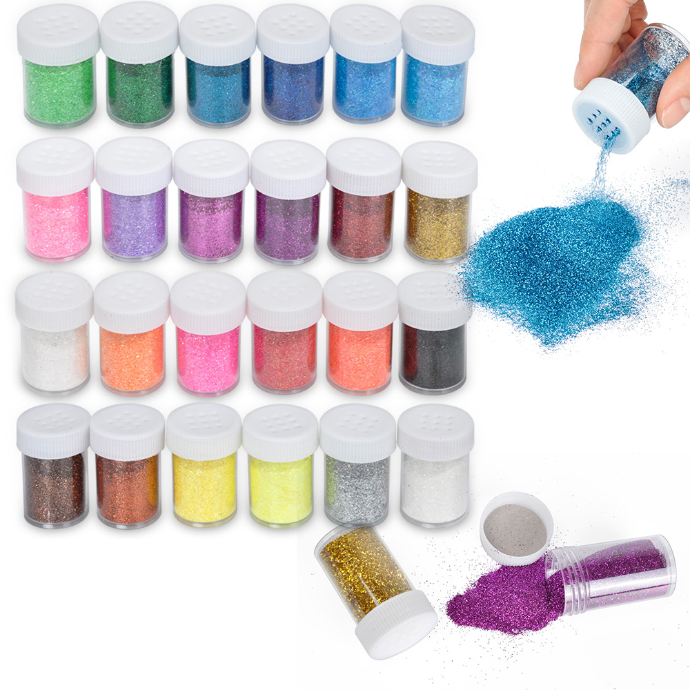 Biutee Lip Gloss Pigmented Powder Cosemetic Glitter Lip Make Up 24 Colors Art Decor Eye Shadow New Arrivals 2020 Nail Glitter