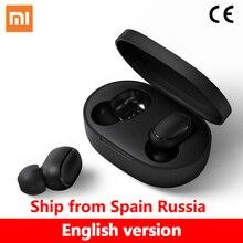 Originele Xiaomi Redmi Airdots Tws Hoofdtelefoon Xiaomi Draadloze Oortelefoon Voice Control Bluetooth 5.0 Ruisonderdrukking Tap Controle