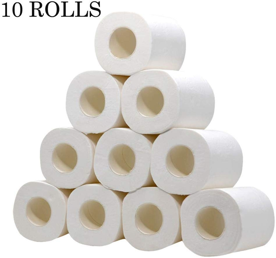 4-Ply Recycled Toilet Paper Septic-safe Silky & Smooth Soft Professional Series Premium Paper Towels 10 Rolls Per Case