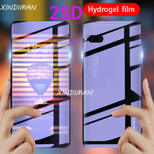 XINDIMAN 25D Front+Back hydrogel-film for meizu Pro7 soft tpu screen protective-Film meizupro7plus Full coverage film