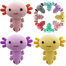 20CM śliczne Axolotl pluszowe lalki Kawaii wypchana poduszka zabawki zwierzątka dla dzieci urodziny świąteczne prezenty na Halloween tanie tanio CN (pochodzenie) Tv movie postaci MATERNITY W wieku 0-6m 7-12m 13-24m 25-36m 4-6y 7-12y 12 + y 18 + Genius Lalka pluszowa nano