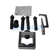Diesel Service Reparatur Werkstatt Common Rail Injektor Adapter Spann Leuchte Demontage Werkzeuge für Bosch Denso CRS Tester Bank
