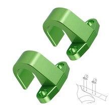 Зажим для шланга заднего тормоза для Kawasaki KLX450R KLX300R KX125 2005 KX250 250F KX450F KX250F KX 125 250 450 250R 450R