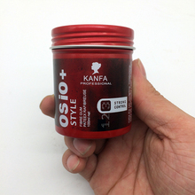 Hai wax Hair shaping products barbershop/home hair mud/clay/gel/wax extra hold water soluble fashion style premium wholesale